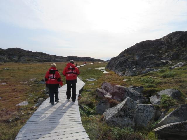 Iceberg walk